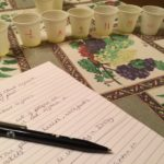 Making plenty of notes on each olive oil