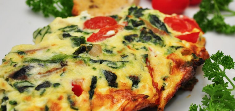 Vegetable Frittata featured image