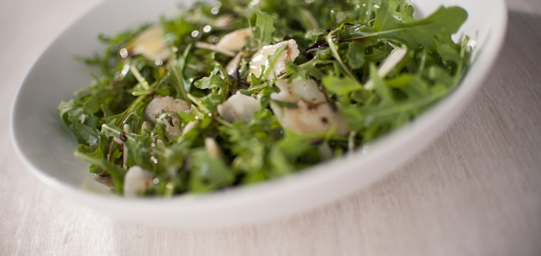 Luxury rocket parmesan salad featured image