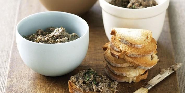 Recipe mushroom truffle pâté vegetarian featured image