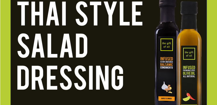 Thai style salad dressing featured image