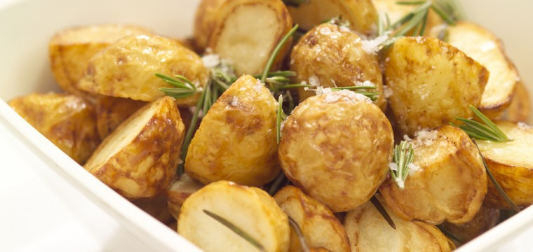 Rosemary garlic crispy potatoes featured image