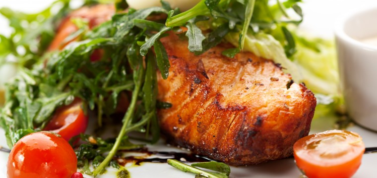 Saucy salmon steaks featured image