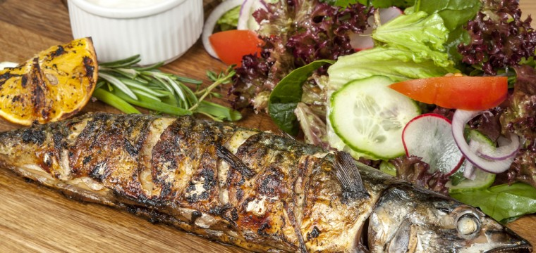 Chilli garlic mackerel parcels featured image