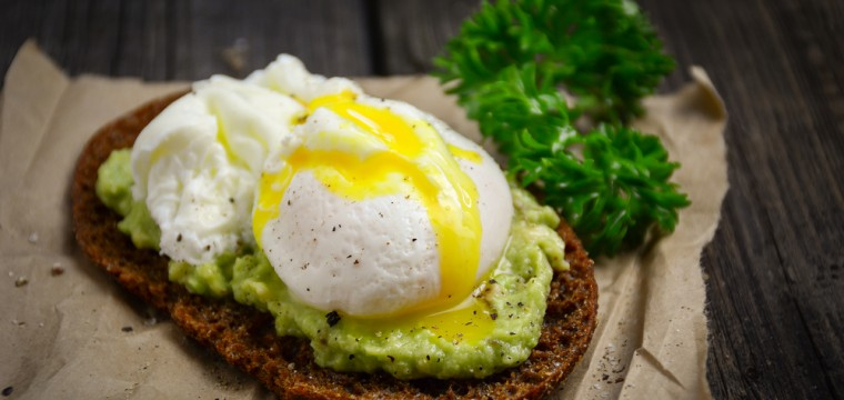 Poached egg avocado on toast featured image