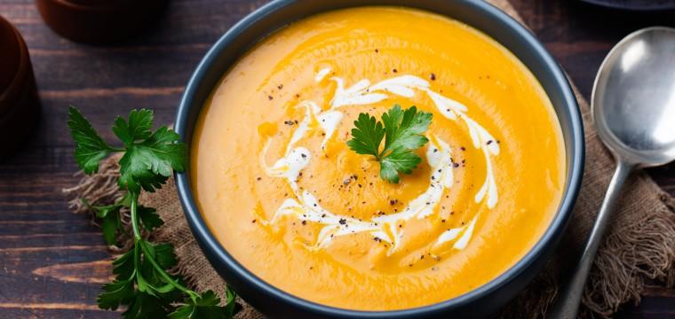 Butternut Squash Soup with Crème Fraîche featured image