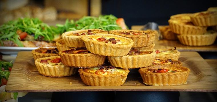 Stilton, mushroom and onion tartlets featured image