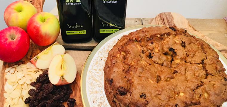 Sicilian Almond Apple Cake featured image