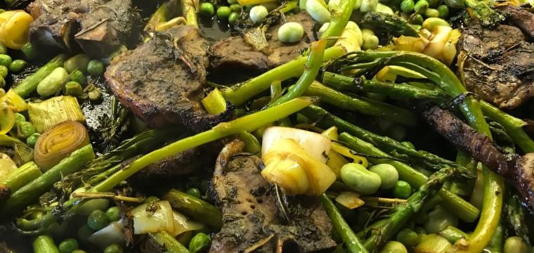 Lamb Chop Tray Bake featured image