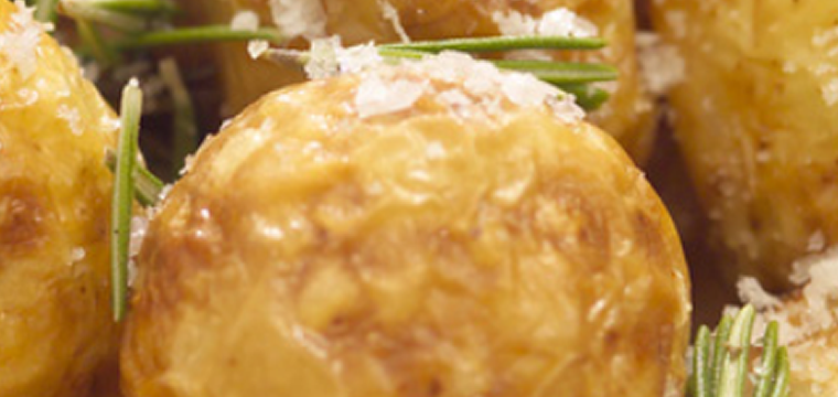 Garlic Parmesan Baked Potatoes featured image
