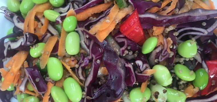 Quinoa & Edamame Salad featured image