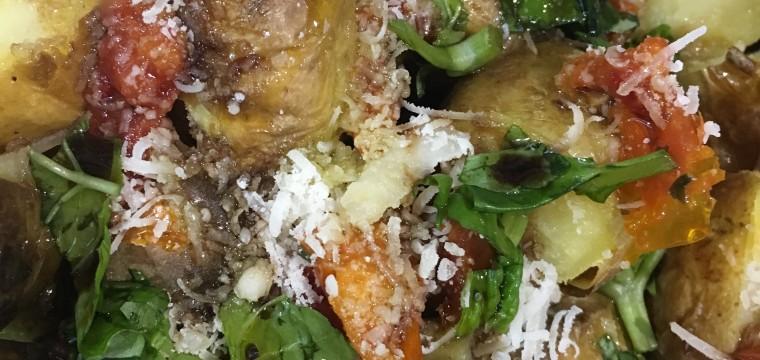 Mediterranean Potato salad featured image