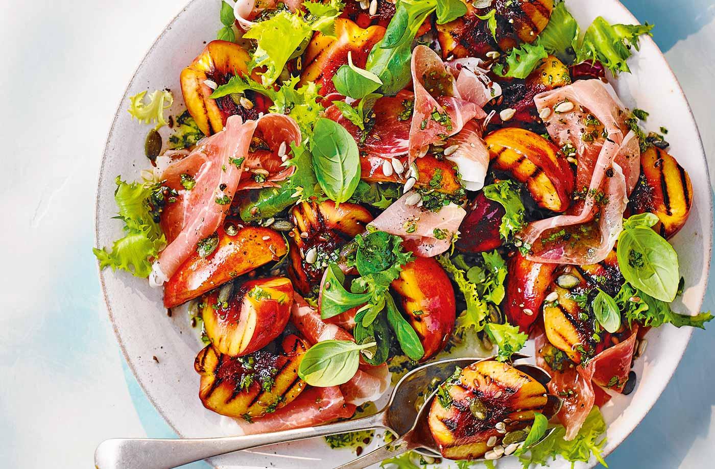 Nectarine & Prosciutto Salad featured image