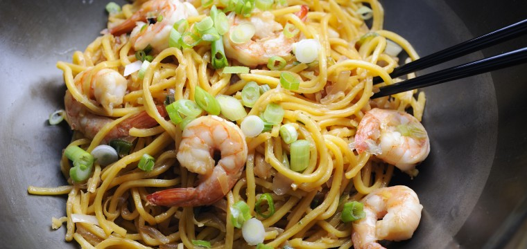 King Prawn Lime & Chilli Noodles featured image