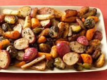 Roasted parsnips, carrots & SPROUTS featured image