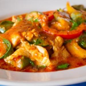 Italian Chicken and Tomato Skillet