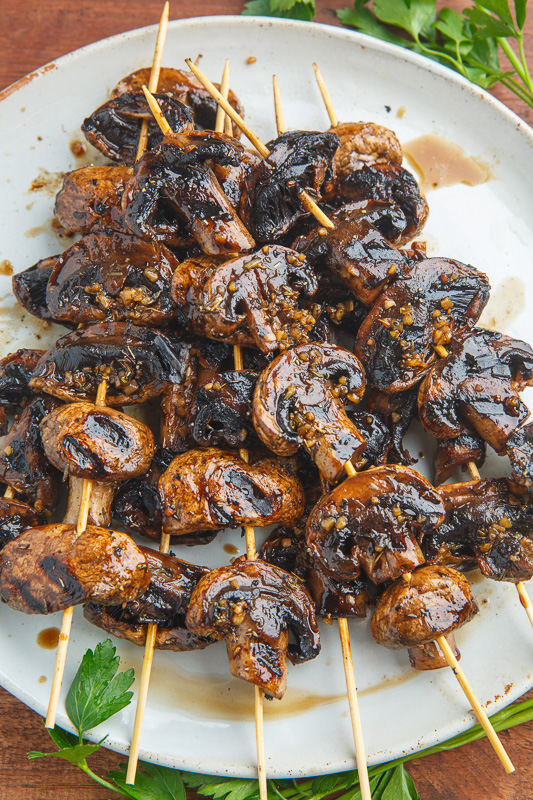 BBQ BALSAMIC MUSHROOMS featured image