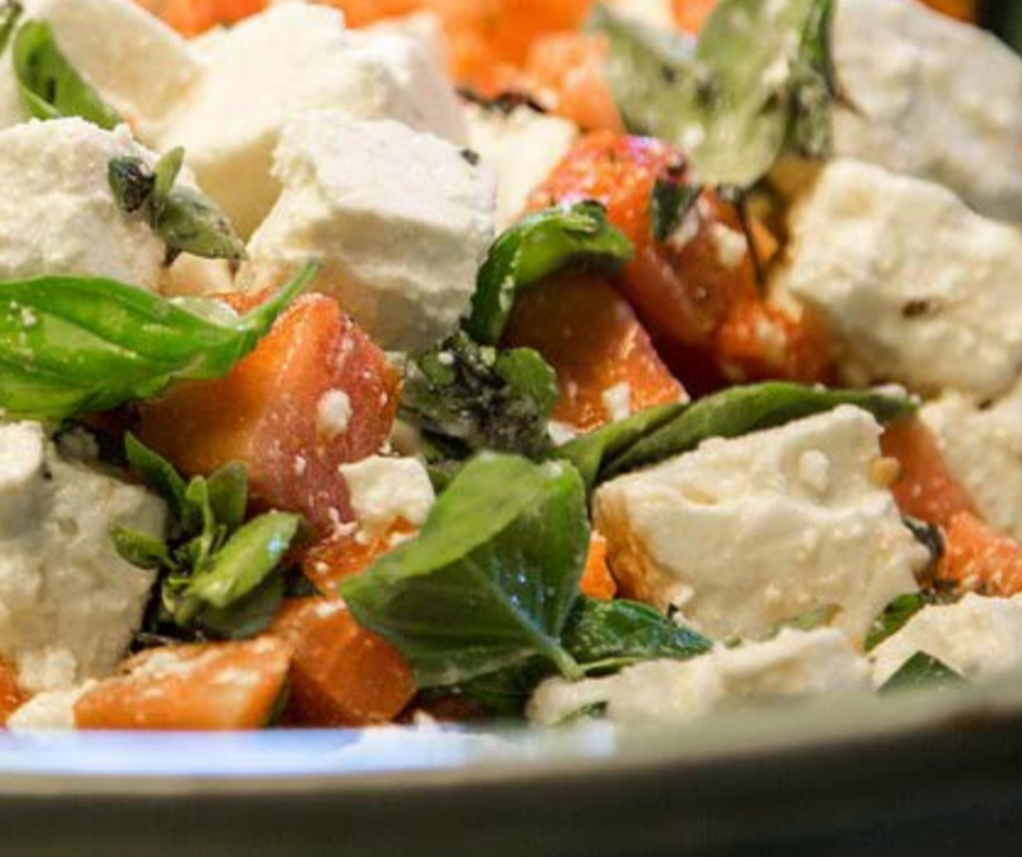 Greek Salad With Sweet Potato featured image