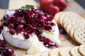 Grilled Brie with Cherry Salsa featured image