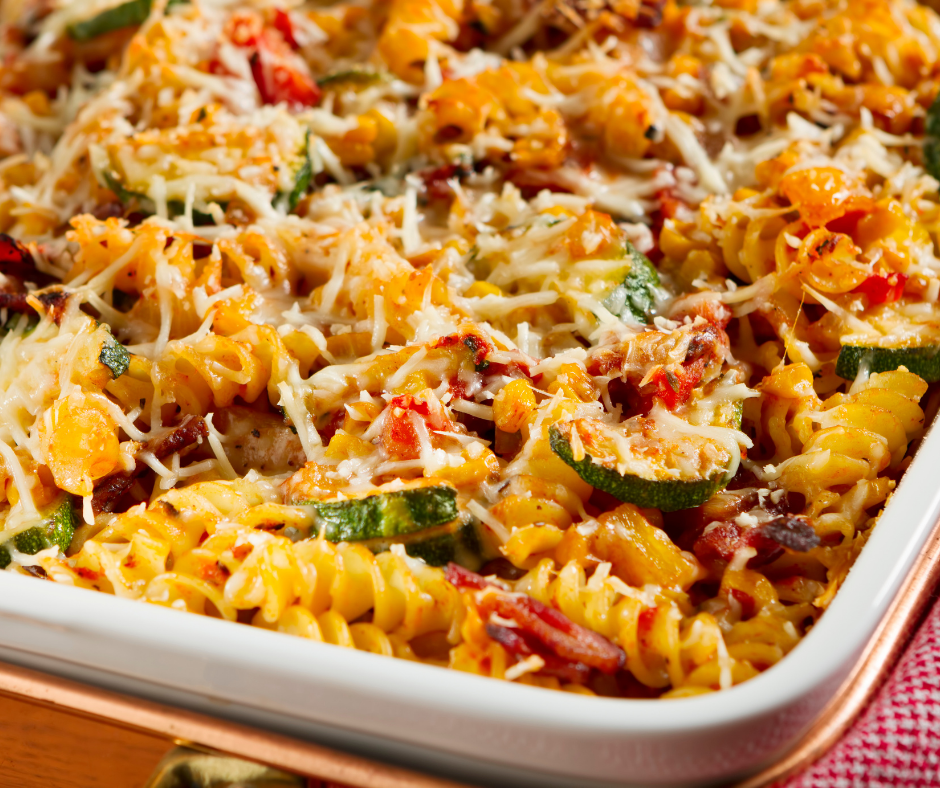 VEGETABLE PASTA BAKE featured image
