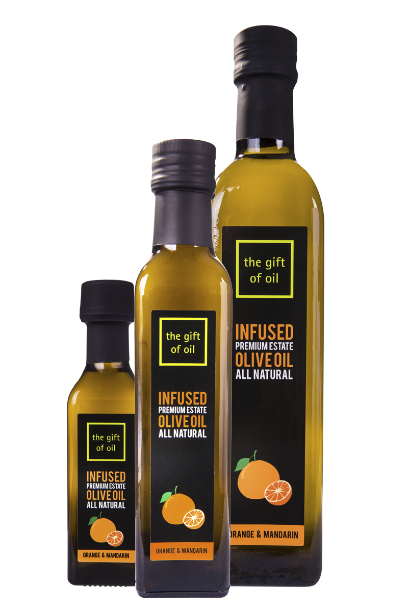 Orange Infused Olive Oil - Orange and Mandarin Infused Olive Oils